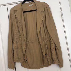 Tan Lucky utility jacket